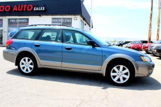 Used 2006 Subaru Outback 2.5i Wagon AWD Alloys Certified 2YR Waranty for sale in Milton, ON