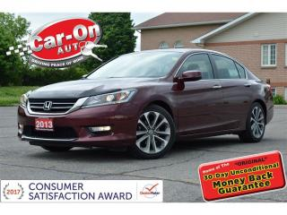 Used 2013 Honda Accord Sport REAR CAM HTD SEATS ONLY 52,000 KM for sale in Ottawa, ON