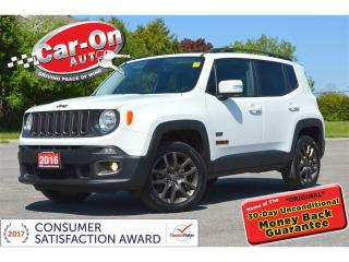 Used 2016 Jeep Renegade 75TH ANNIV. 4X4 SKYROOF HTD STEERING LOADED for sale in Ottawa, ON