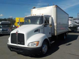 Used 2009 Kenworth T300 18 Foot Cube Van with Power Tailgate Diesel for sale in Burnaby, BC
