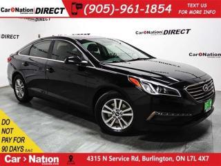 Used 2015 Hyundai Sonata GL| BACK UP CAMERA| HEATED SEATS| for sale in Burlington, ON