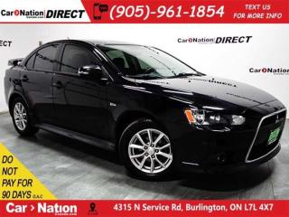 Used 2015 Mitsubishi Lancer Limited Edition AWC| SUNROOF| OPEN SUNDAYS| for sale in Burlington, ON