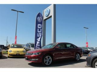 Used 2015 Volkswagen Passat 1.8 TSI Highline | Sunroof & Heated Seats! for sale in Whitby, ON
