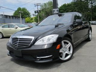 Used 2011 Mercedes-Benz S-Class S450 4MATIC AWD ~ NAVIGATION ~ 107KMS ~ SUNROOF !! for sale in Burlington, ON