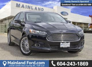 Used 2014 Ford Fusion SE *ACCIDENT FREE* for sale in Surrey, BC