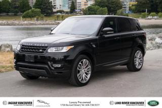 Used 2016 Land Rover Range Rover Sport V8 Supercharged Dynamic (2016.5) *Certified Pre-Owned! for sale in Vancouver, BC