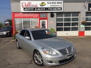 Used 2011 Hyundai Genesis V8 TECH PACKAGE SUNROOF NAVIGATION for sale in London, ON
