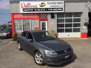 Used 2011 Volkswagen Jetta COMFORTLINE DIESEL SUNROOF for sale in London, ON