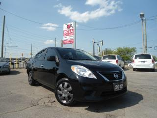 Used 2012 Nissan Versa AUTO LOW KM NO ACCIDENT NO RUT PL PW PM A/C AUX for sale in Oakville, ON