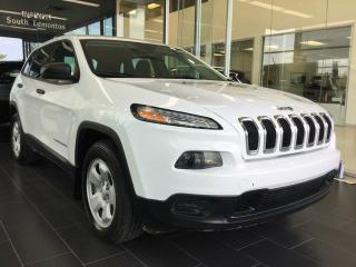 Used 2014 Jeep Cherokee SPORT, 4WD, ACCIDENT FREE for sale in Edmonton, AB