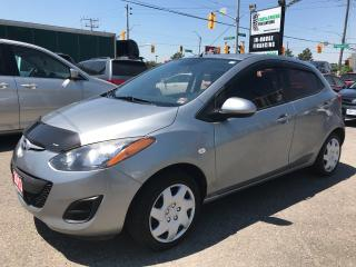 Used 2013 Mazda MAZDA2 GX l Sunroof l AC l Tint l USB/Aux for sale in Waterloo, ON