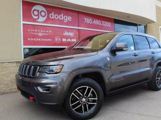 Used 2017 Jeep Grand Cherokee Trailhawk 4x4 / Panoramic Sunroof / GPS Navigation / Back Up Camera for sale in Edmonton, AB