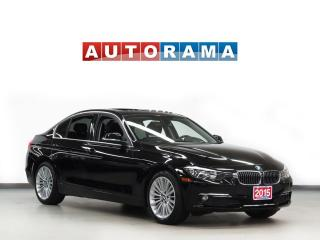 Used 2015 BMW 3 Series AWD NAVIGATION LEATHER SUNROOF  BLUETOOTH for sale in North York, ON