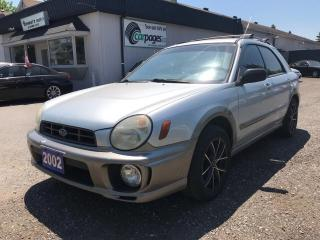 Used 2002 Subaru Impreza Outback Sport for sale in Bloomingdale, ON