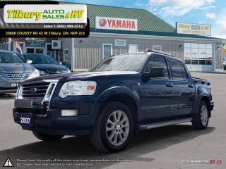 Used 2007 Ford Explorer Sport Trac LIMITED. V8. QUIET TRUCK. for sale in Tilbury, ON