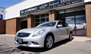 Used 2011 Infiniti G37X  Luxury G37X AWD BACK-UP CAMERA  LEATHER SUNROOF for sale in Mississauga, ON