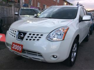 Used 2009 Nissan Rogue SL/AWD/Bluetooth/Roof/Leather Power Seats/Alloys for sale in Scarborough, ON