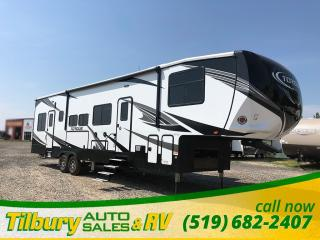 New 2019 HEARTLAND TORQUE 371 TQ TOY HAULER for sale in Tilbury, ON