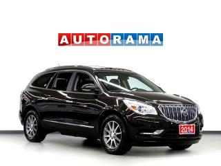 Used 2014 Buick Enclave NAVIGATION LEATHER SUNROOF 7 PASS AWD BACKUP CAM D for sale in North York, ON
