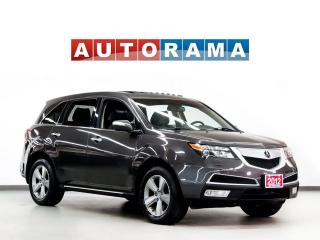 Used 2012 Acura MDX TECH PKG NAVIGATION LEATHER SUNROOF 7 PASS 4WD DVD for sale in North York, ON