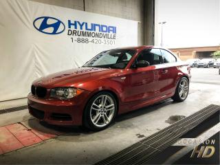 Used 2008 BMW 1 Series 135i M PACK + BAS KM + MAGS + CUIR + TOI for sale in Drummondville, QC