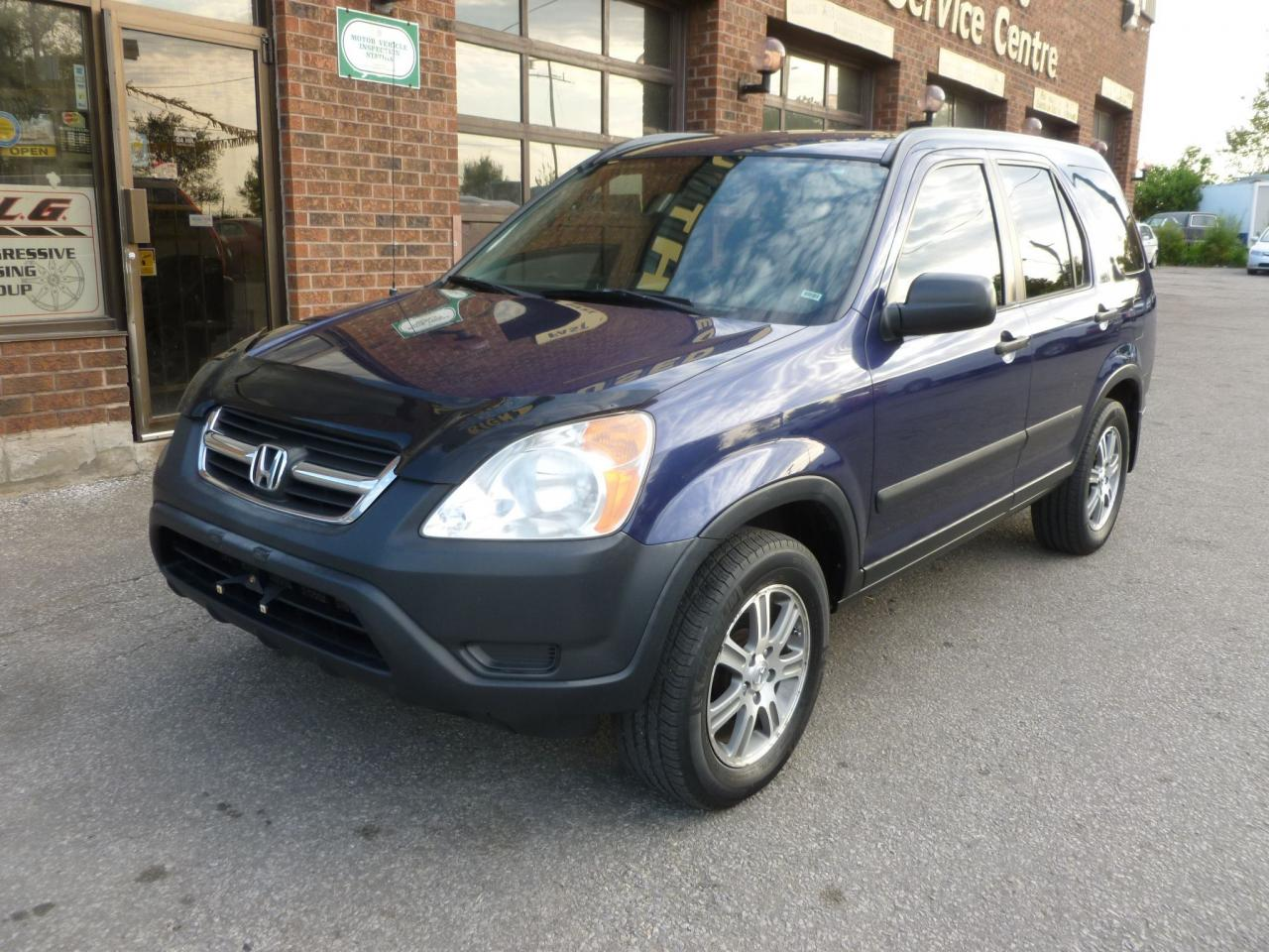Photo of Blue 2003 Honda CR-V