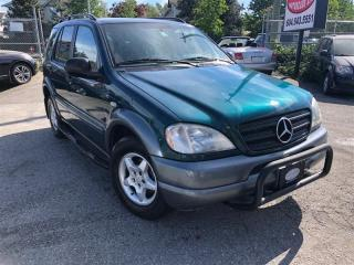 Used 1998 Mercedes-Benz ML 320 Elegance for sale in Surrey, BC