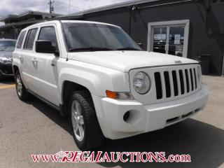 Used 2010 Jeep PATRIOT  4D UTILITY FWD for sale in Calgary, AB