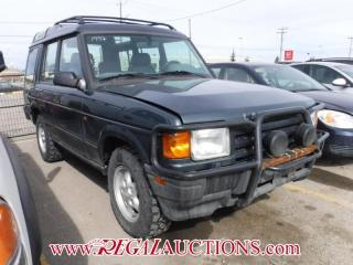 Used 1997 Land Rover DISCOVERY  4D UTILITY 5PASS 4WD for sale in Calgary, AB