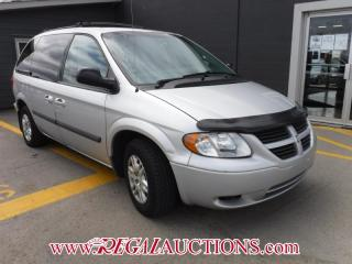 Used 2007 Dodge CARAVAN BASE WAGON for sale in Calgary, AB