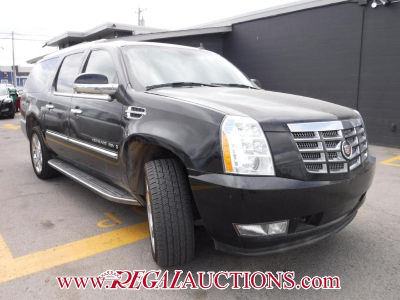 2007 Cadillac ESCALADE ESV 4D UTILITY 4WD