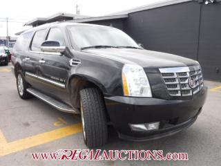 Used 2007 Cadillac ESCALADE ESV 4D UTILITY 4WD for sale in Calgary, AB
