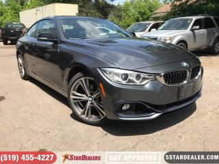 Used 2014 BMW 428i xDrive | LEATHER | NAV | ROOF for sale in London, ON