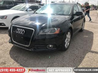Used 2011 Audi A3 2.0T Premium S | ROOF | LEATHER for sale in London, ON