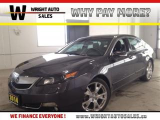 Used 2014 Acura TL Elite PK| SUNROOF|NAVIGATION|LEATHER|114,063 KMS for sale in Cambridge, ON
