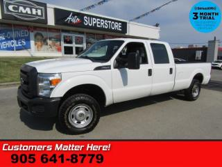 Used 2013 Ford F-250 Super Duty XL  CERTIFIED (WORK TRUCK SPECIAL) CREW 6.2L 4X4 AIR for sale in St Catharines, ON