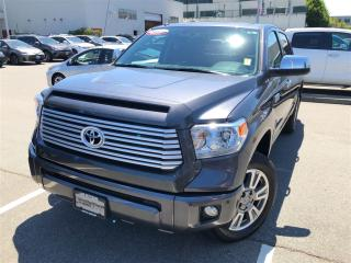 Used 2017 Toyota Tundra Platinum 5.7L V8 for sale in Surrey, BC