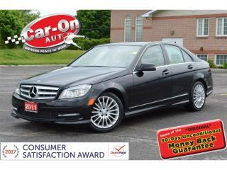 Used 2011 Mercedes-Benz C-Class 4MATIC LEATHER SUNROOF HTD SEATS LOADED for sale in Ottawa, ON