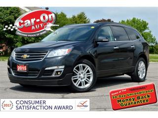 Used 2015 Chevrolet Traverse LT 1LT AWD REAR CAM HTD SEATS REMOTE START for sale in Ottawa, ON