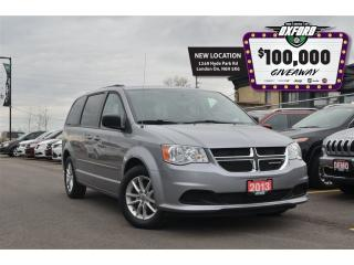 Used 2017 Dodge Grand Caravan SXT PLUS - DVD, GPS, Sunroof, Bluetooth, Back Up C for sale in London, ON