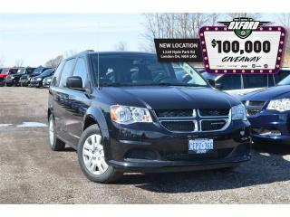 Used 2017 Dodge Grand Caravan SXT - Bluetooth, Roof Rack, Cruise for sale in London, ON