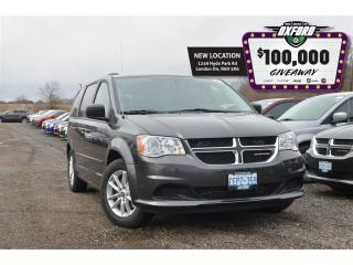 Used 2017 Dodge Grand Caravan SXT Plus - DVD, GPS, Bluetooth, Back Up Cam for sale in London, ON
