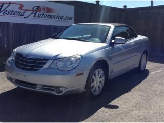 Used 2008 Chrysler Sebring TOURING CONVERTIBLE for sale in Stittsville, ON