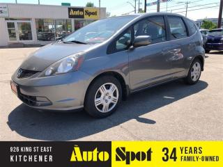 Used 2013 Honda Fit LX/LOW, LOW KMS/PRICED-QUICK SALE ! for sale in Kitchener, ON