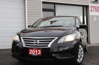 Used 2013 Nissan Sentra 1.8 SV Bluetooth, Satellite radio, No Accidents for sale in North York, ON
