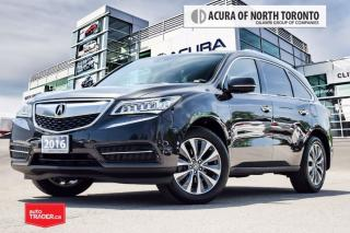 Used 2016 Acura MDX Tech Accident Free| Remote Start| DVD for sale in Thornhill, ON