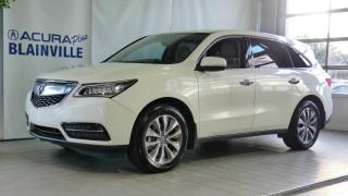 Used 2016 Acura MDX NAVIGATION ** SH-AWD ** for sale in Blainville, QC