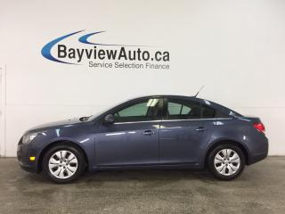 Used 2014 Chevrolet Cruze 1LT - TURBO! REM START! A/C! ON STAR! CRUISE! for sale in Belleville, ON