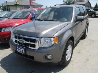 Used 2012 Ford Escape 'POWERFUL' XLT MODEL 5 PASSENGER 3.0L - V6.. 4WD.. CD/AUX INPUT.. KEYLESS ENTRY.. FLEX FUEL.. for sale in Bradford, ON