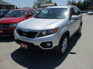 Used 2011 Kia Sorento 'POWERFUL' LX EDITION 5 PASSENGER 3.5L - V6.. HEATED SEATS.. CD/AUX/USB INPUT.. BLUETOOTH.. KEYLESS ENTRY & START.. for sale in Bradford, ON